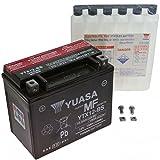 AGM Batterie Suzuki SV 650 S 03-15 Yuasa YTX12-BS Dry 7070691
