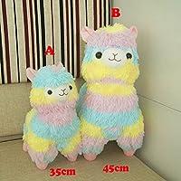 Botetrade Rainbow Cute Alpaca Llama Plush Stuffed Toys