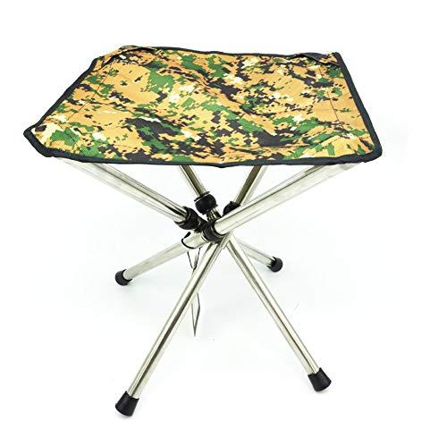 Ultraleichter tragbarer Klappstuhl - Angelstuhl aus Aluminium für den Außenbereich-A -