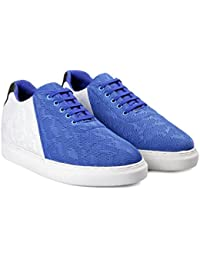 BXXY'S 2.8 Inch Hidden Height Increasing Casual Blue Colour Outdoor Shoes in TPR Sole. Height Elevator Shoes