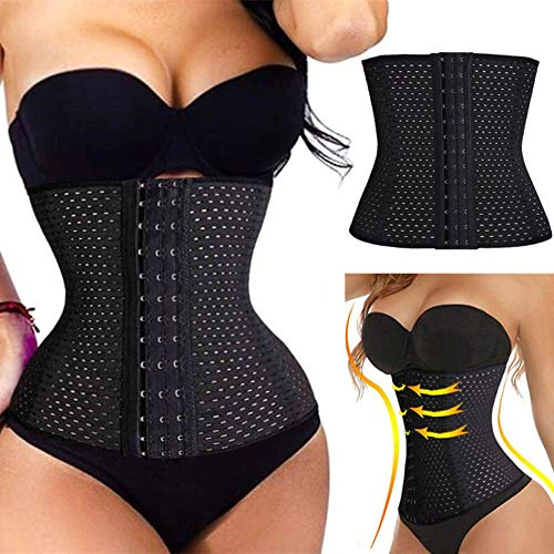 Taille Trainer-Weight Loss Tummy Control Body Shaper-Taille Cincher Trimmer-Taille Cincher Trimmer,Black-XXXXL