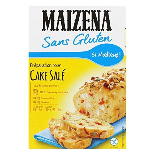 Maizena Préparation pour Gâteau Salé sans Gluten 170 g - Lot de 3