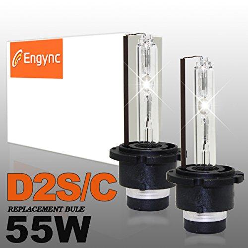 Engync 2x D2C 55W HID Xenon Lampen Scheinwerfer Nachrüstsatz Set Schnellstart Ersatzlampen Xenonscheinwerfer Frontscheinwerfer-4300K