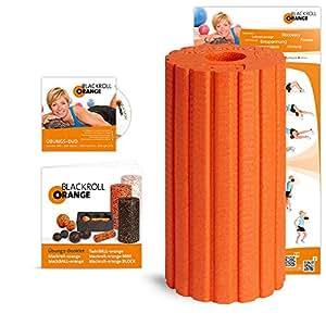 Blackroll Orange Groove ULTRA (Das Original) DIE Selbstmassagerolle - inkl. Übungs-DVD, -Poster und -Booklet