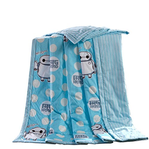 DFB High-Grade Luxury Twill Cotton Summer Cool Cool Summer Thin Quilt Facile à Nettoyer Les Genoux Faciles à Entretenir,MeetingChildhood