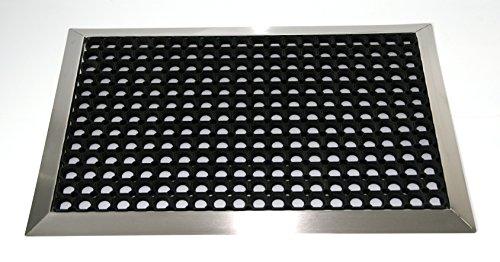 SZ Metall 28125 Ringgummimatte 90x60 cm+Edelst
