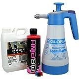 Gloria Foam Master FM10 Schaumsprüher + Chemical Guys Mr pink Shampoo 473 ml + ValetPRO Neutral Snow Foam Shampoo 1 Liter