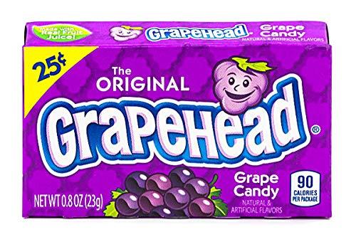 Grapehead - Fruit Candy (24x23g)