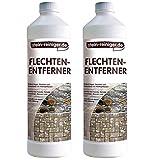 stein-reiniger.de: Flechten-Entferner - mühelos Flechten entfernen, Pilz-Entferner, Algen-Enferner 2 Liter