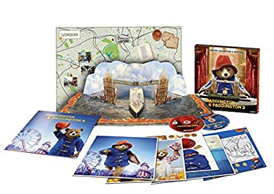 Paddington 1 & 2 - Limited Collector's Edition, Pop-Up Buch [2 DVDs]