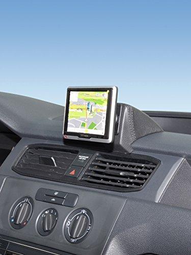 KUDA Navigationskonsole (LHD) für VW Caddy ohne Deckel ab 2015 (Kunstleder schwarz)