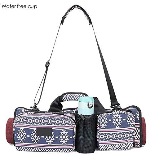 heresell Multifunktionale Yogatasche Neue Art und Weise Große Kapazität Portable Zusammenklappbare Sport Yoga Bag Tragbare Langlebig Geeignet Für Outdoor-Sport-Fitness und Yoga