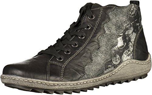 Remonte schwarz/schwarz-silb schwarz/schwarz-silb R1474-02 schwarz