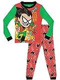 Teen Titans Go! - Pijama para Niños - Teen Titans - Ajuste Ceñido - 4 - 5 Años