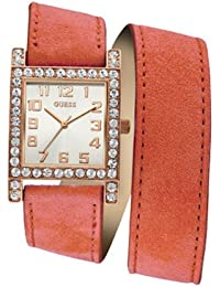 Guess W0158l2 Red/White Analog Watch