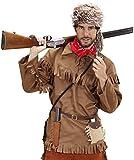 Widmann - CS922632/M - Déguisement - Costume Trappeur, Taille M