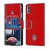 Officiel NFL Stade De Mercedes-Benz Atlanta 2 2019 Super Bowl LIII Étui Coque De...