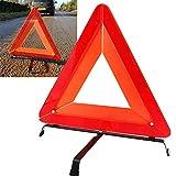 mentalshopwb Triangolo di Emergenza Catarifrangente OMOLOGATO Base Sicurezza Stradale Auto