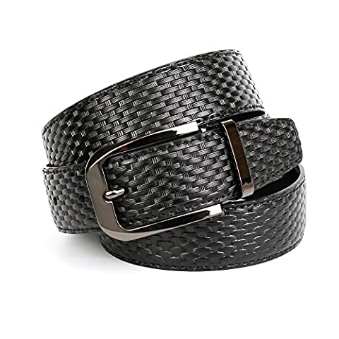 Anthoni Crown Men's 3NW10 Belt, Schwarz (Schwarz 010), XXXL