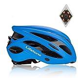 Shinmax Specialized Bike Helm mit Sicherheitslicht, Verstellbare Sport Fahrradhelm Fahrrad Fahrradhelme für Road & Mountain Biking,...