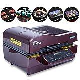 SWEEPID 2900W ST-3042 3D Automatique pour Téléphone, Tasse, Transmission de la Chaleur, T-Shirt Imprimante, Presse à la Chaleur, Presse 300 x 420 x 20 mm