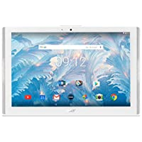 "Acer Iconia One 10 B3 A40 Tablet da 10,1"" 1280 x 800, Quad core 1,30 GHz, 2 GB RAM, 32 GB Memoria Flash, Wi-Fi + 4G, Android 6.0, Bianco"