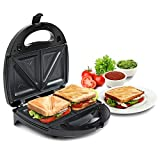 Russell hobbs rst750m3 750 watt Non-Stick 3 in 1 Sandwich Maker (Sandwich Toast/Waffle/Grill) Toaster with Detachable Multi-Plate and 2 Years Warranty