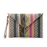 Hrph Neue National Geometrische Taschen Umschläge Clutch Kleine Damen Designer-Handtaschen Frauen Telefon-Paket Geldbeutel