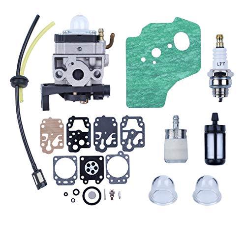 Haishine Carburatore Carb Guarnizione Diaphargm Kit per Honda GX35 HHT35 HHT35S Motore Trimmers Decespugliatore Pompa Acqua Generato