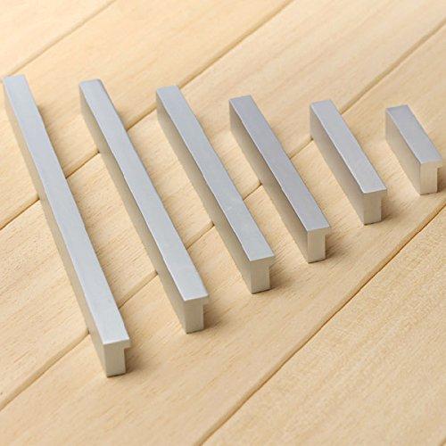 Volesenitm - maniglie per mobili in alluminio, per cucina, cassetti, porte, armadi, a casa e in ufficio, oggetto di arredamento