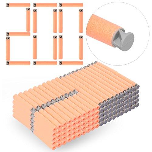 HB 200 Pack Darts Pfeile Refill Bullets Nachfüllpack Zubehör für Nerf Serie (Boxen Design Dart)