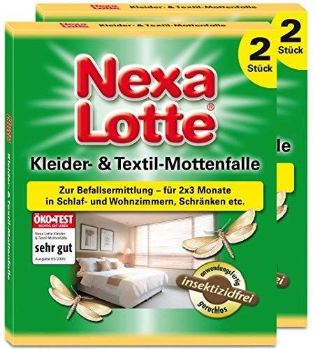 Nexa Lotte Lot de pièges à mites Lot de 4
