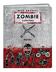 Zombie Survival Notes Mini Journal by Max Brooks (2008-07-22)