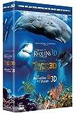 Le Monde des requins 3D + Le monde des dauphins et des baleines, nomades des mers 3D + Les merveilles de l'Océan 3D - Coffret [Blu-ray 3D]