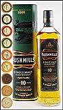 Bushmills 10 Jahre Irish Single Malt Whiskey mit 9 DreiMeister Edel Schokoladen in 9 Geschmacksvariationen, kostenloser Versand