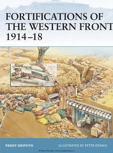 Fortifications of the Western Front 1914–18 (Fortress Book 24) (English Edition) por Paddy Griffith