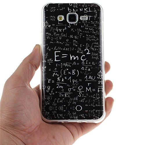 Samsung Galaxy J7 hülle MCHSHOP Ultra Slim Skin Gel TPU hülle weiche weiche Silicone Silikon Schutzhülle Case für Samsung Galaxy J7 - 1 Kostenlose Stylus (Vans von der wand (Vans off the wall)) Das Gesetz der Schwerkraft (The law of gravity)