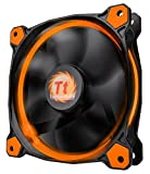 Thermaltake CL-F038-PL12OR-A Ventola per Cassa PC, Arancio