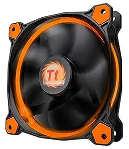 Thermaltake CL-F038-PL12OR-A Ventola per Cassa PC, Arancio
