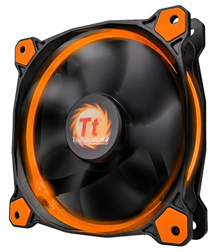 Thermaltake Riing 12 LED PC-Gehäuselüfter orange