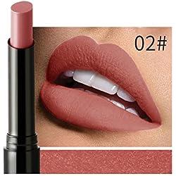 iHENGH Charme Rouge à Lèvres, Velvet Longue durée Matte Crayon de Couleur Rouge à lèvres Maquillage Sexy Waterproof Crayon