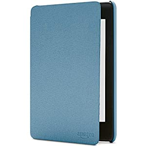 Amazon Kindle Paperwhite Leather Cover| Compatible with 10th Generation (2018 release), Twilight Blue