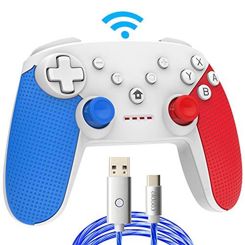COODIO Mando Pro Para Nintendo Switch, Mando Inalámbrico Switch, Nint