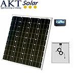 80W AKT Solar Panel Kit with 10A char...