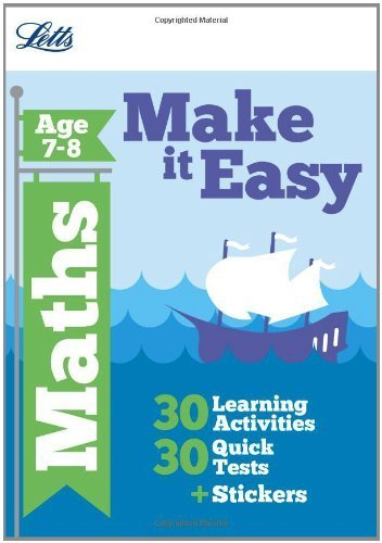 Letts Make It Easy Complete Editions - Maths Age 7-8 by Broadbent, Paul (2012) Paperback