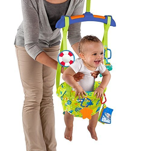 Baby Jumper Door Bouncer Einstein Sea & Discover Door 4 Months + Fun Toy New 51Vu0n1ek9L