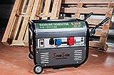 Grupo electrógeno, generador de corriente, 2.800 W, 220/380 V