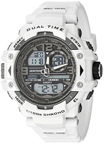 armitron-sport-homme-20-5062wht-analogique-et-digital-chronographe-montre-bracelet-en-resine-blanc