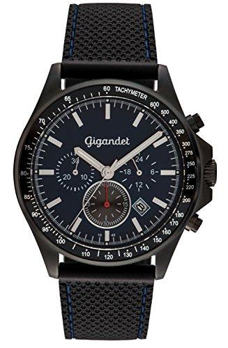 Gigandet Volante Men's Analogue Chronograph Quartz Watch Black Blue G3-010