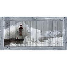 cuadro madera x cm lmina barnizada con efecto enmarcado en tabln de madera